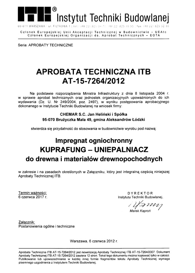 Domy szkieletowe śląsk - certyfikat 5