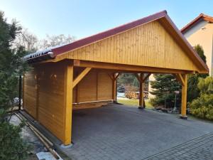 Wiata garażowa 1